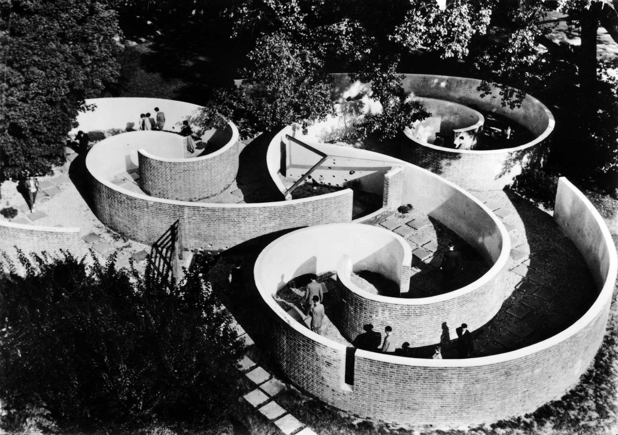 """Children's Labyrinth"" at the 10th Milan Triennial, 1954."