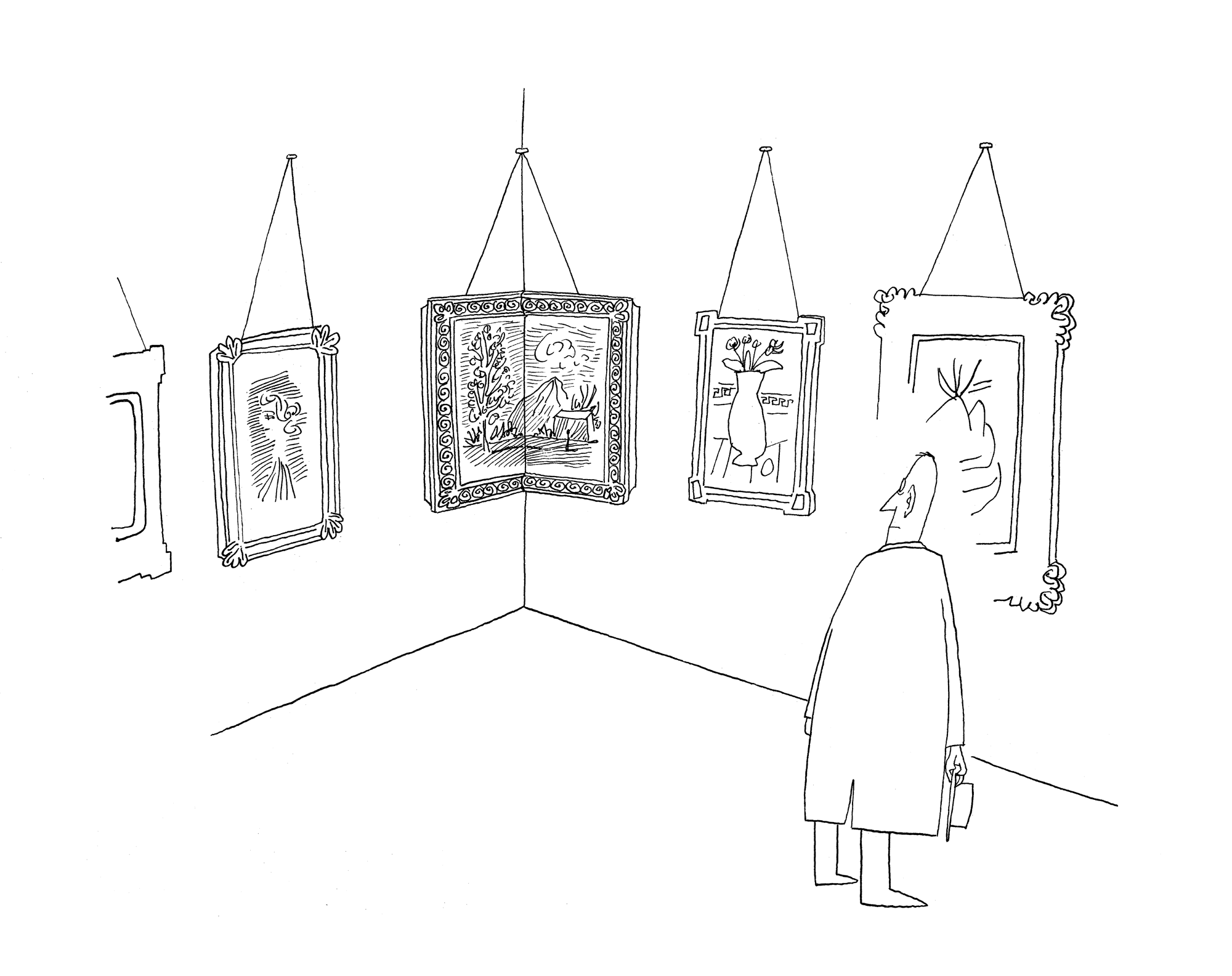 Drawing in <em>The New Yorker</em>, April 4, 1946.