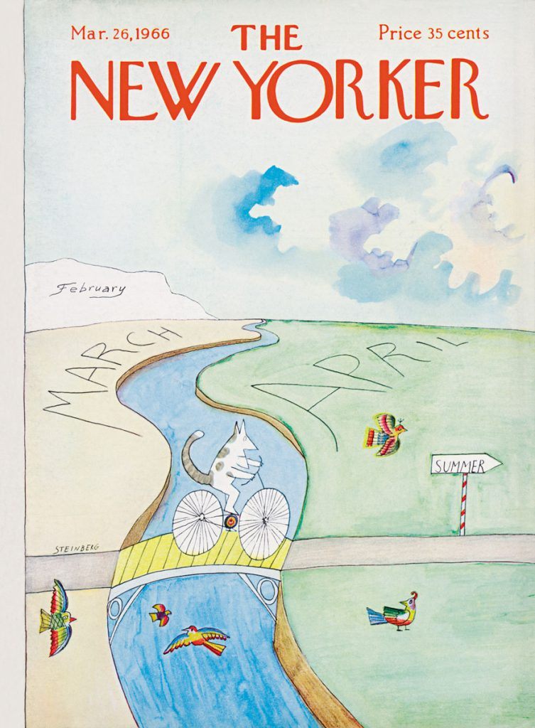Cover of <em>The New Yorker</em>, March 26, 1966.