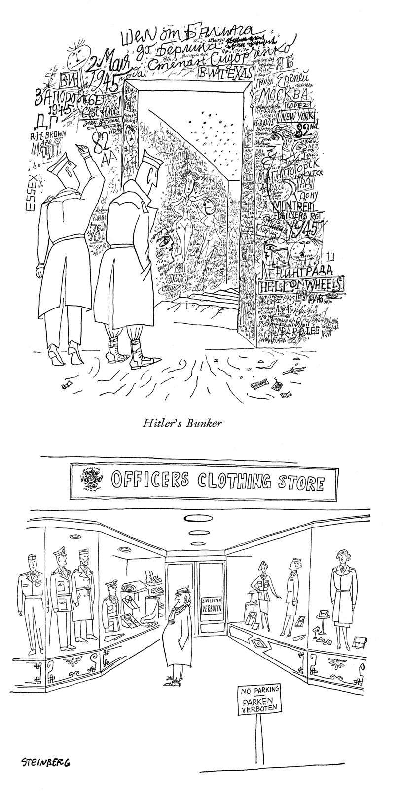"From the ""Berlin"" portfolio, The New Yorker, March 29, 1947."